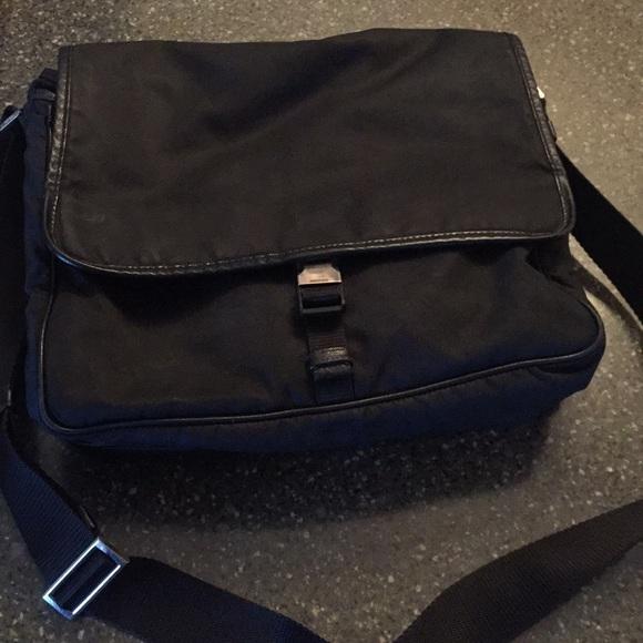 3b17cfe686c Prada Bags | Black Mens Messenger Bag | Poshmark